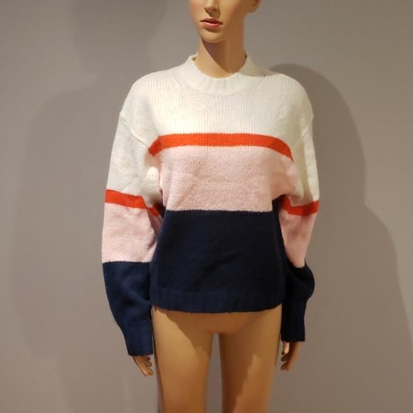 Rebecca Minkoff striped sweater size M